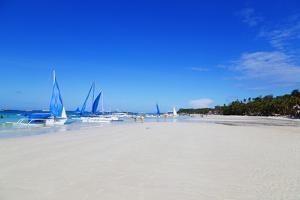 White Beach, Boracay Island, the Visayas, Philippines, Southeast Asia by Christian