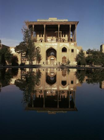 Ali Qapu Palace, Unesco World Heritage Site, Isfahan, Iran, Middle East