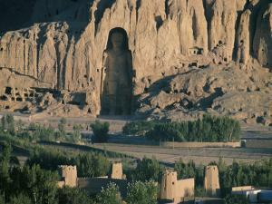 Buddha at Bamiyan, Unesco World Heritage Site, Since Destroyed by the Taliban, Bamiyan, Afghanistan by Christina Gascoigne