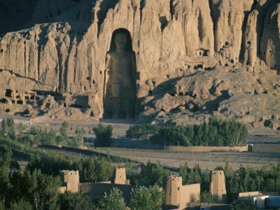 Buddha at Bamiyan, Unesco World Heritage Site, Since Destroyed by the Taliban, Bamiyan, Afghanistan