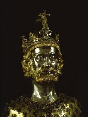 Charlemagne, Dating from around 1350, Aachen, Germany, Europe by Christina Gascoigne