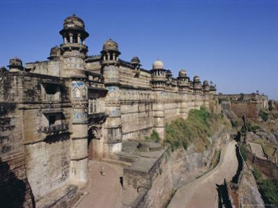 Main Entrance to Fort, Gwalior, Madhya Pradesh State, India, Asia