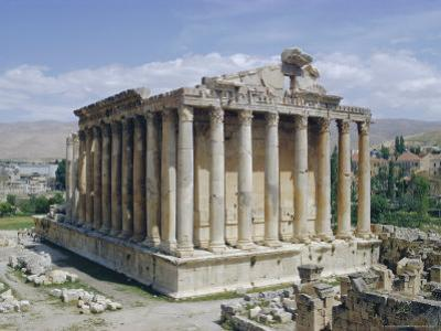 Temple of Bacchus, Baalbek, Lebanon, Middle East