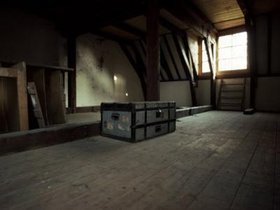 The Attic of Anne Frank House, Amsterdam, Holland