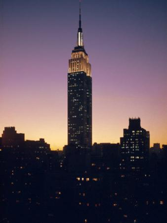 The Empire State Building, New York, New York State, USA
