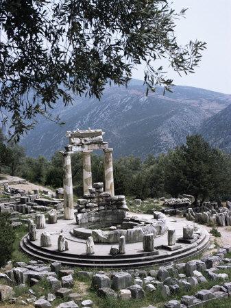 The Tholos, Delphi, Unesco World Heritage Site, Greece