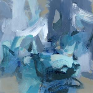 Abstract Blues II by Christina Long
