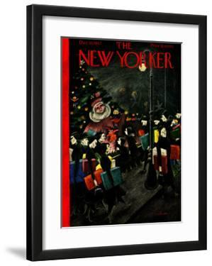 The New Yorker Cover - December 13, 1947 by Christina Malman