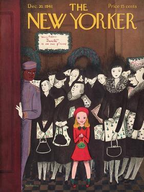 The New Yorker Cover - December 20, 1941 by Christina Malman