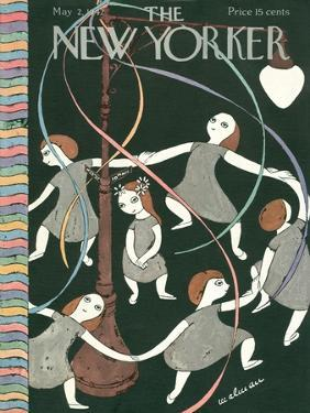 The New Yorker Cover - May 2, 1942 by Christina Malman