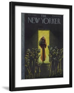 The New Yorker Cover - November 11, 1944 by Christina Malman
