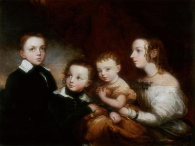 A Group of Children, C.1850