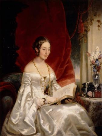 Portrait of Princess Maria Ivanovna Kochubey, Née Baryatinskaya (1818-184), 1840s