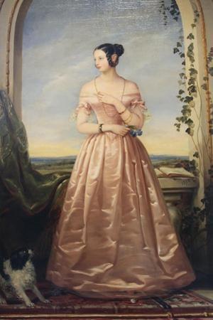 Portrait of the Grand Duchess Alexandra Nikolaevna, 1840