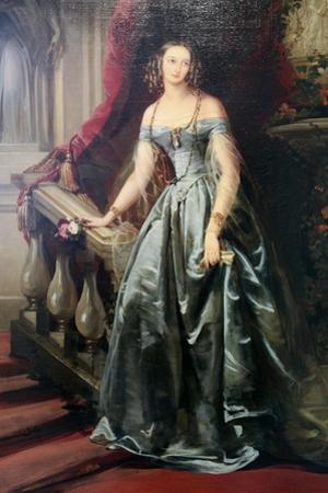 Portrait of the Grand Duchess Olga Nikolaevna, 1841