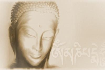 Buddha- Om mani padme hum