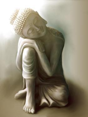 Resting Buddha by Christine Ganz