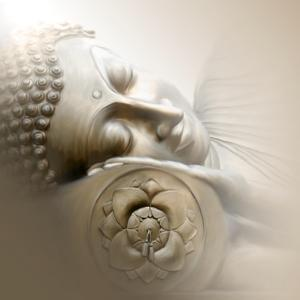 Sleeping Buddha by Christine Ganz