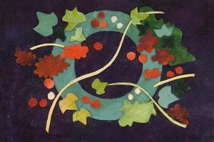 Christmas Wreath I by Christine McKechnie