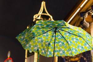 Umbrella at the Oktoberfest by Christine Meder stage-art.de