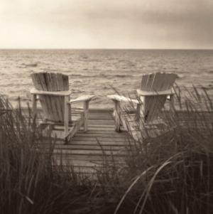 Beach Chairs by Christine Triebert