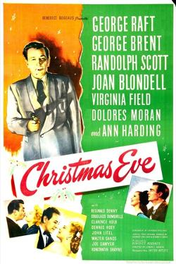 Christmas Eve, US poster, George Raft