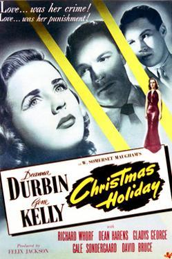 Christmas Holiday - Movie Poster Reproduction