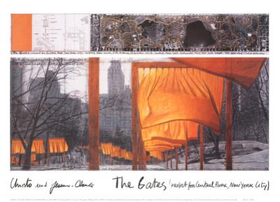 The Gates IX by Christo