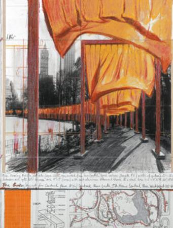 The Gates, Project for Central Park, New York City by Christo