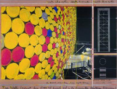 The Wall IV by Christo