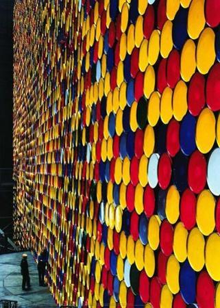 The Wall Nr. 2 (Oberhausen) by Christo