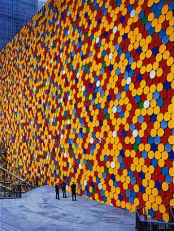 The Wall VI by Christo