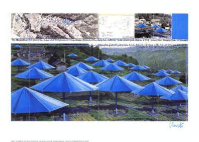 Umbrellas - Signed by Christo