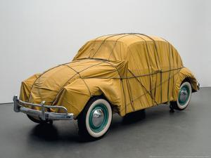 Wrapped Beetle, 1963/2014 by Christo