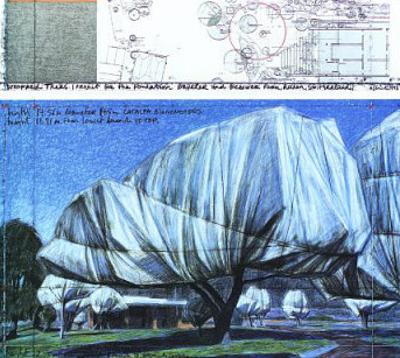 Wrapped Trees I by Christo