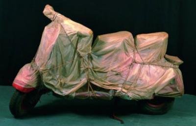 Wrapped Vespa