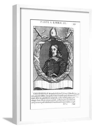 Christof Von Galen--Framed Giclee Print