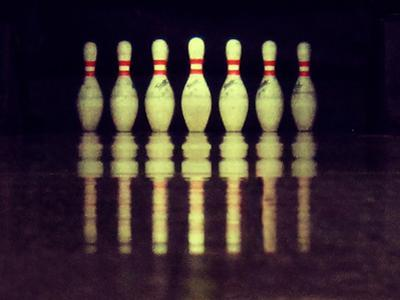 Bowling Pins by Christoph Hetzmannseder