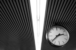 Hanging Clock by Christoph Hetzmannseder