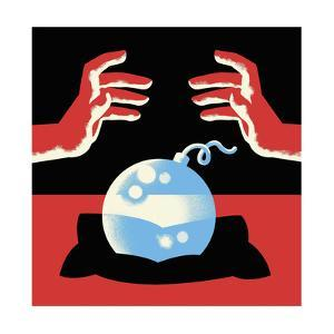 A crystal ball is a bomb - Cartoon by Christoph Niemann