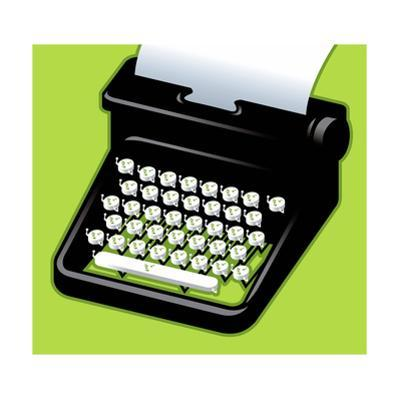 An Angry typewriter - Cartoon by Christoph Niemann