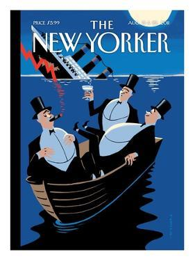 The New Yorker Cover - August 15, 2011 by Christoph Niemann