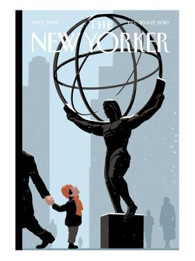 The New Yorker Cover - December 20, 2010 by Christoph Niemann