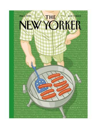 The New Yorker Cover - July 7, 2003 by Christoph Niemann