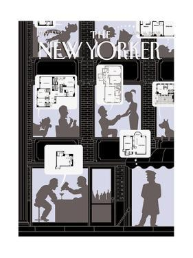The New Yorker Cover - June 6, 2005 by Christoph Niemann