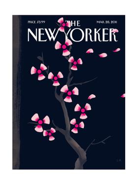 The New Yorker Cover - March 28, 2011 by Christoph Niemann