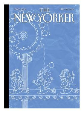 The New Yorker Cover - May 20, 2013 by Christoph Niemann