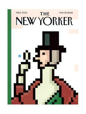 The New Yorker Cover - May 27, 2002 by Christoph Niemann