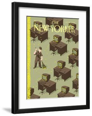 The New Yorker Cover - October 25, 2004 by Christoph Niemann