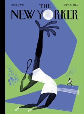 The New Yorker Cover - September 5, 2016 by Christoph Niemann